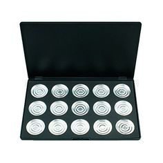 Tmalltide DIY 15 PCS 36mm Empty Magnetic Cosmetics Makeup Eyeshadow Eye Shadow Aluminum Palette Pans * Check this awesome product by going to the link at the image. We are a participant in the Amazon Services LLC Associates Program, an affiliate advertising program designed to provide a means for us to earn fees by linking to Amazon.com and affiliated sites.