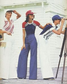 1970s nautical fashion by Katies | From The Australian Women's Weekly, 12 November 1975