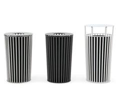ZEROQUINDICI.015 Waste bin with lid by Diemmebi design Alberto Basaglia, Natalia Rota Nodari