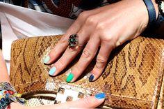 multi-color nails!