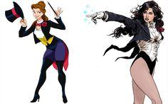 Artista transforma as princesas da Disney em super-heróis famosos - Moda - CAPRICHO