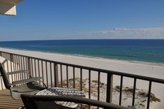 Beachfront beauty can be found on an Island Winds East balcony in #GulfShores. #BRvacation #BrettRobinson #BeachCondo #beach