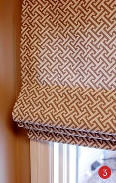 DIY Roman Shades - did this today. It did take all day....but the concept/instructions were simple