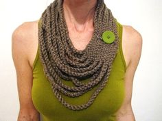 Do it Yourself Crochet Necklace Pattern
