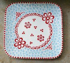 Mandala Dots, Dot Painting, Stone Art, Painted Rocks, Zentangle, Dotted Art, Diy And Crafts, Mosaic, Clay