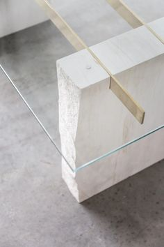 Otti Coffee Table - Otti Coffee Table – Tigmi Trading The Effective Pictures We Offer You About diy home decor A qua - Plywood Furniture, Table Furniture, Home Furniture, Furniture Design, Stone Coffee Table, Diy Coffee Table, Coffee Table Design, Design Table, Beton Design