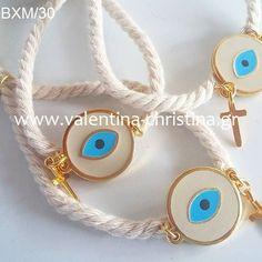Χειροποίητα μαρτυρικά βάπτισης απο εκρού κορδόνι Jewelery, Earrings, Ideas, Fashion, Bangle Bracelets, Jewlery, Ear Rings, Moda, Jewels