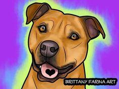 Art brittany farina free spirit fan art animal art forward bull