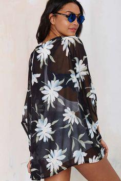 #Fashion  Summer Style : Glamorous Isadora Chiffon Kimono - Kimono