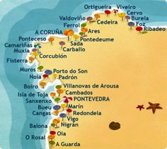 Playas de Galicia:):) Solo me quedan tres por visitar!! Bucket list!