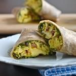 Healthy breakfasts- the savory ones look amazing! Green eggs and ham burrito, Brussels sprout scramble!?