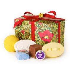 Lush Spa Gift: Perfect for anyone who could use a little indulgence, the LUSH Spa gift is packed with some of our exclusive LUSH Spa products.