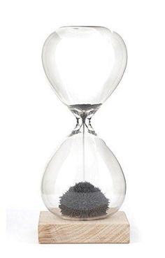 Kikkerland Magnetic Sand Hourglass 1 Minute Timer Kitchen Cooking Decor Gift for sale online Hourglass For Sale, Sand Hourglass, Hourglass Tattoo, Tween Boy Gifts, Sand Timers, Gift Finder, Home Trends, Toy Storage, Desk Accessories
