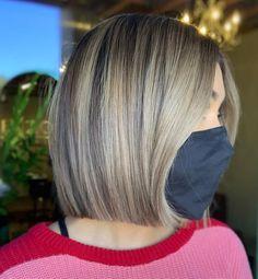 Blunt Haircut Medium, Bob Hairstyles For Fine Hair, Thin Hair Haircuts, Medium Bob Hairstyles, Medium Hair Cuts, Short Hair Cuts, Short Hair Styles, Blunt Hairstyles, Layered Hairstyles