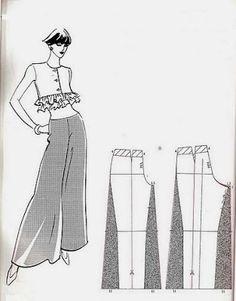 Para la temporada de Diciembre pueden elaborar un pantalón bien elegante en tela delgada. Puede hacerlo en telas como seda chifón o cualquier otra... Esto es un resumen. Visita el enlace para leerlo completo.