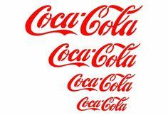 J BOUTIQUE STENCILS WALL STENCIL TEMPLATE CocaCola Various size-Reusable stencils for DIY decor
