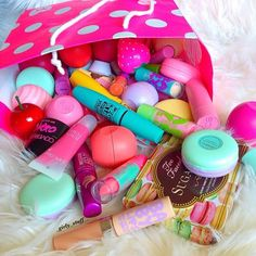 Lip balms and glosses love these