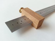 Shop made tools #6: Ruler Stop