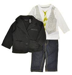 Calvin Klein Baby Boys Black Blazer 3pc Denim Pant Set (3/6M) Calvin Klein http://www.amazon.com/dp/B00QU9E8VM/ref=cm_sw_r_pi_dp_2Vuavb0X0M8DH