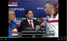 Na Turquia, um árbitro protagonizou um episódio insólito ao interromper uma entrevista, em direto, para pedir desculpa ao treinador do Kasimpasa, por ter assinalado erradamente uma grande penalidad…