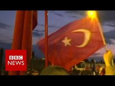 One month on from Turkey's failed coup - BBC News - YouTube