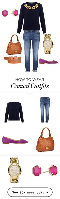 """""""Fall casual polished"""" by mc11 on Polyvore featuring Weekend Max Mara, Sarah Flint, MICHAEL Michael Kors, Marc by Marc Jacobs, Loro Piana, Seaman Schepps and Kendra Scott"""
