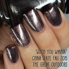 "twi-star: China Glaze ""Wood You Wanna?""    This is officially my most popular pin!"