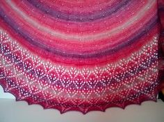 Ravelry: Dewdrops & Petals Shawl pattern by Margaret Edelson