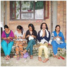 Tibetan socks - Made in villages by Tibetan women who knit them in their homes Slipper Socks, Slippers, Woolen Socks, Ethical Shopping, Hand Knitting, Homes, How To Make, Handmade, Wool Socks