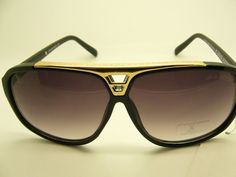 2013 FASHION LOUIS VUITTON SUNGLASSES MEN'S AND WOMEN'S BLACK/ GOLD/RED/BROWN LV GLASSES LOUISV1005 $20.00