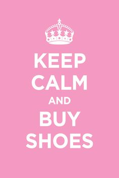 @Erin Duncan Thorne and @Danielle Finley Coleman i know u guys love shoes so follow this advice/rule!! <3