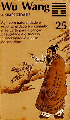"""El hexagrama 25 es llamado 無妄 (wu wang), """"La Inocencia""""."""