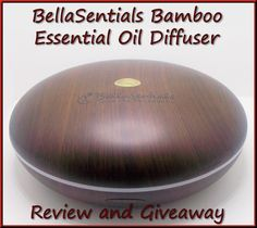 Primitive Gypsy : ~ Giveaway & Review ~ BellaSentials Essential Oil Diffuser #sweepstakes #giveaway #essentialsoils