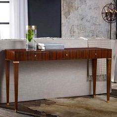 Modern History French Mid Century Console