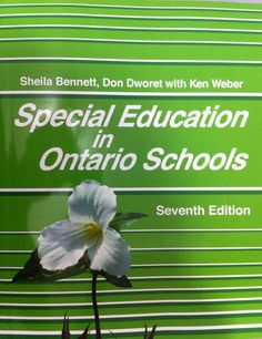 A variety of resources about special education with an emphasis on Ontario Ministry Of Education, Special Education, Ontario, Leo, Special Needs, You Can Do, Textbook, Online Marketing, Author