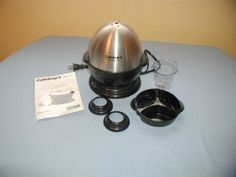 CUISINART EGG COOKER MODEL # CEC-7 ELECTRIC EGG COOKER / POACHER.  I HAVE SEVERAL EGG POACHERS/COOKERS FOR SALE IN MY BLUJAY STORE. http://www.blujay.com/?page=ad&adid=4716215&cat=11110200