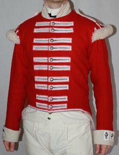 Napoleonic British Uniform Jacket 1800 1815 by ThePeriodTailor, $350.00