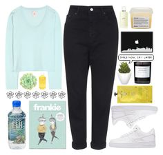 """""""#371 Cold summer night"""" by mia5056 ❤ liked on Polyvore featuring Topshop, Jardin des Orangers, Chanel, Aveda, Davines, Pomax, NIKE, Byredo and Iroha"""