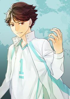 Oikawa Tooru - Haikyuu!! / HQ!!, uniform, http://www.pixiv.net/member_illust.php?mode=manga&illust_id=45226662
