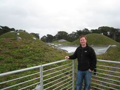 Past: Nate Griswold, Inhabitect's founder, on top of the California Academy of Sciences in San Francisco, CA.