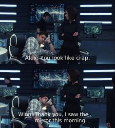 Winn and Mon-El sure had a fun night out on the Supergirl episode Superhero Shows, Superhero Memes, Supergirl Superman, Supergirl And Flash, Series Dc, Alex Danvers, Cw Dc, Chyler Leigh, Dc Tv Shows
