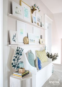 Updating my Picture Ledges | inspiredbycharm.com