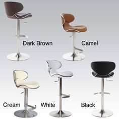 @Overstock - This trendy pub stool is perfect for a counter or bar top as well as for a pub table. This stool can be easily adjusted and features a sturdy metal base.http://www.overstock.com/Home-Garden/Ecco-Adjustable-Height-Swivel-Stool/5704014/product.html?CID=214117 $133.99