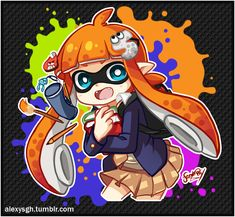 ▲ AlexySGH ▲ — Student Inkling! Time to start the classes!   |...