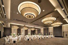 Ballroom Hooh Named after phoenix, the hotel's symbol, Capital Hotel, Tokyo