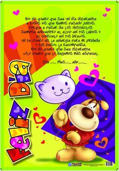 Más tamaños | MUESTRAS TARJETAS CODY | Flickr: ¡Intercambio de fotos! Friendship Letter, Great Inspirational Quotes, Doodles, Happy Birthday, Clip Art, Scrapbook, Blog, Fun, Cards