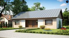 Dom w budowie Living Area, Living Spaces, Second Floor, Portal, Gazebo, Shed, Villa, Floor Plans, Outdoor Structures