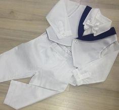 Conjunto Beth Bebê Batizado Blazer, Calça E Camisa