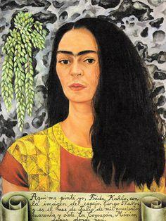 Frida Kahlo - Autoportrait -1947