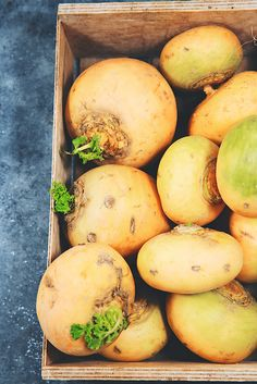 Saveurs Végétales: ► Gratin de pommes de terre & navets Boule d'or